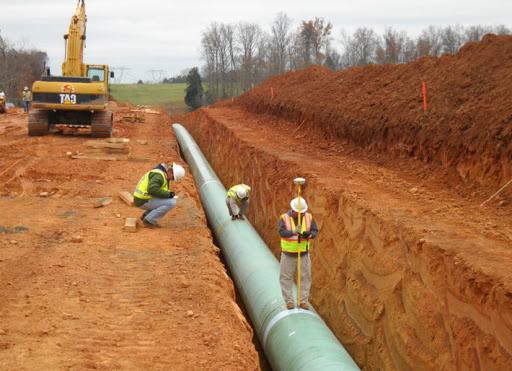 Геодезические изыскания водопровода
