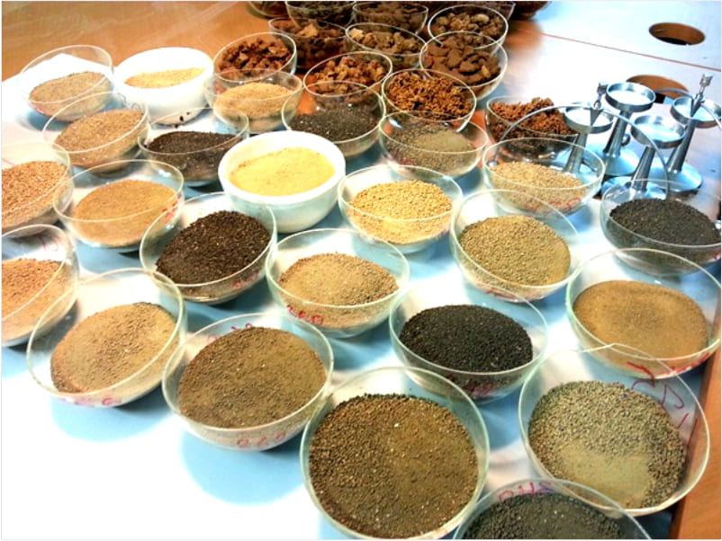 Определение плотности грунта