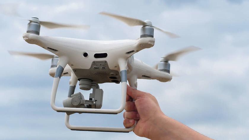 применение дронов